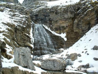 Cascada Cola de Caballo en Ordesa; trekking semana santa